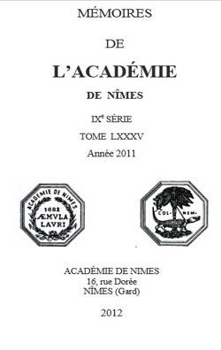 Academeie-nimes-memoires-2000